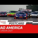 POSTCARD - GT America powered by AWS @ Road America 2021