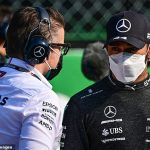 'It should be an easy win for him': Lewis Hamilton RESIGNED to losing to Red Bull and Max Verstappen in Sunday's Italian Grand Prix after Mercedes man finished fifth in Monza sprint race
