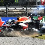 'Thank God for the halo, his head could have been taken off': Relieved F1 fans declare it a 'miracle' that Sir Lewis Hamilton survived dramatic crash with title rival Max Verstappen at the Italian Grand Prix