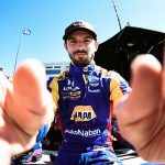 Rossi Leads Misty, Chilly Laguna Seca Warmup