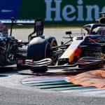 Max Verstappen rejects Lewis Hamilton's pressure claim over title race