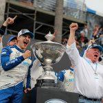 Palou, Chip Ganassi Racing Celebrate Title at Victory Lap