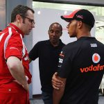 Ferrari's failure to land Lewis Hamilton will go down as a 'sliding doors' moment, says former team boss Stefano Domenicali after the Mercedes star admitted he will 'never know why' he hasn't raced for F1 giants