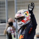 Max Verstappen thrillingly pips Lewis Hamilton to pole at the US Grand Prix as the title-chasing duo lock out the front row for the seventh time this season
